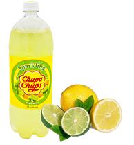 Напиток Chupa Chups Лимон-Лайм  1,5 л Корея (12 шт. в упаковке)