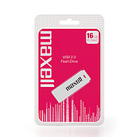 Флешка Maxell USB Speedboat 16GB 2.0 Flash Drive white