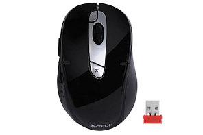 Мышь беспроводная A4tech G11-570FX, 2000 DPI/ USB/ Черный, серебристый