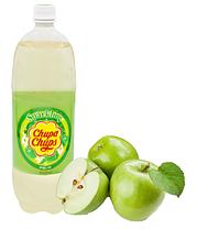 Напиток Chupa Chups Яблоко 1,5 л Корея (12 шт. в упаковке)