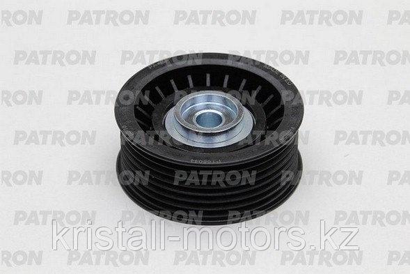 РОЛИК ОБВОДНОЙ PATRON PT65044 = MMC 3.0/3.5/3.8 PAJERO 3/4/L200/SPORT приводного ремня малый пластиковый 7PK