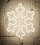 Светодиодная LED снежинка 30 см разные цвета, фото 3