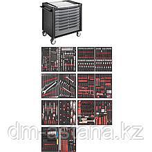 Тележка инструментальная с набором инструментов 775 предметов