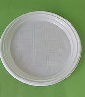 Тарелка десертная d 165 мм белая (100шт)