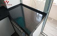 Подоконник акриловый под гранит искусственный камень