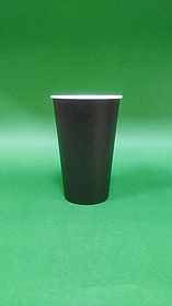 Бумажный стакан однослойный, 450 мл (50шт)