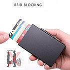 Серый Бокс для кредитных карт - кардхолдер. RFID Protected., фото 4