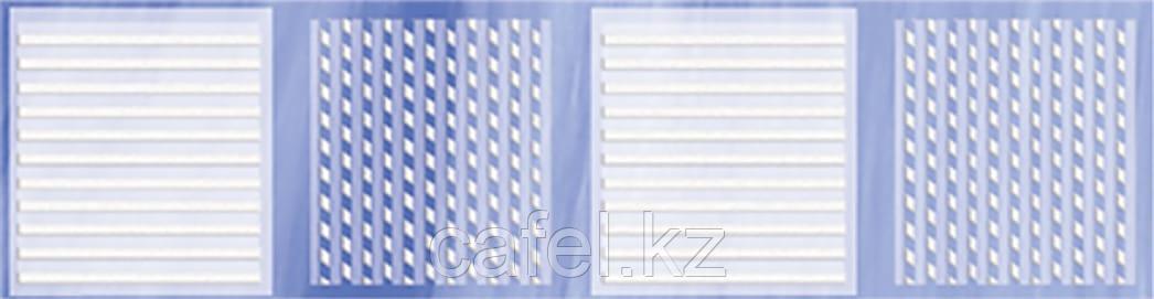 Кафель   Плитка настенная 25х35 Агата   Agata голубой бордюр