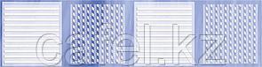 Кафель | Плитка настенная 25х35 Агата | Agata голубой бордюр