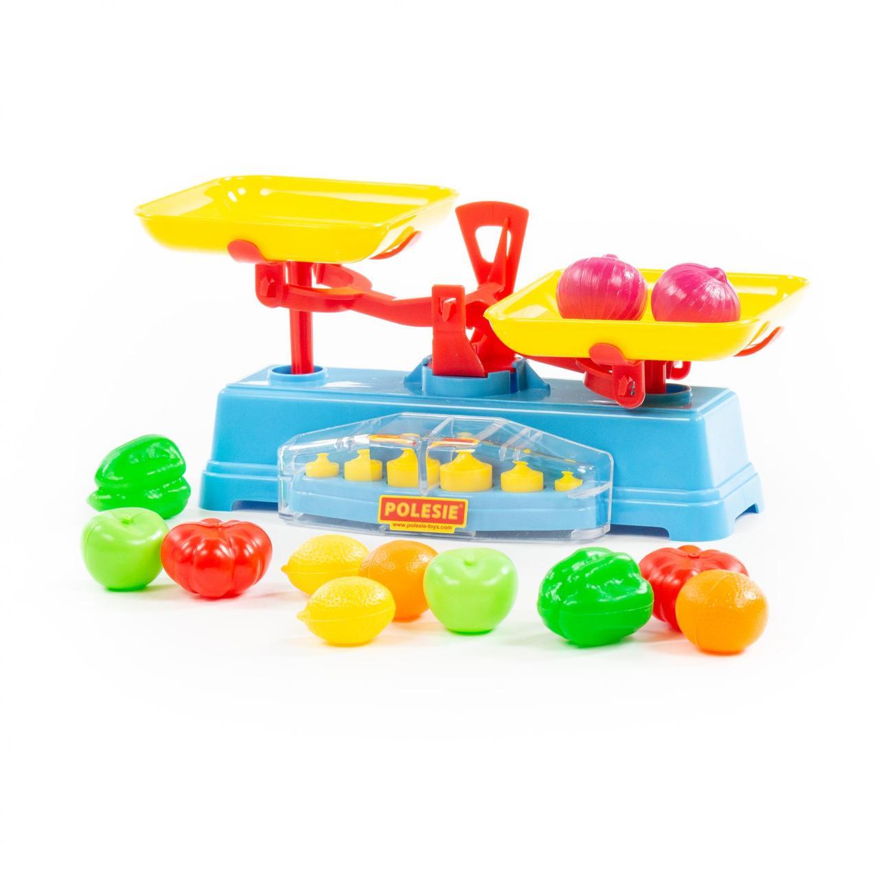 Игровой набор - Весы и комплект продуктов - фото 1