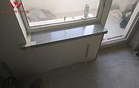 Подоконник серый акриловый под гранит