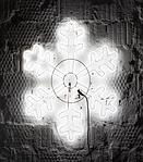 Светодиодная LED снежинка 70 см разные цвета, фото 3