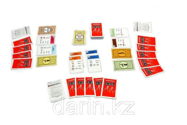 Игра настольная Монополия карточная - фото 2