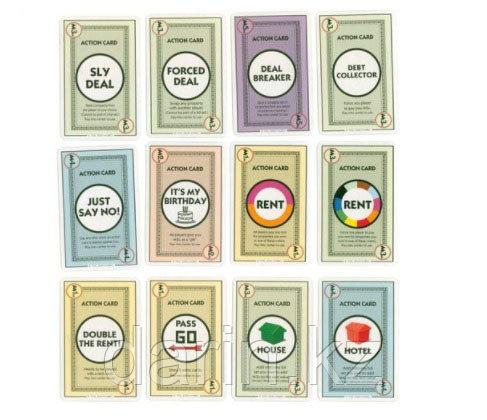 Игра настольная Монополия карточная - фото 3