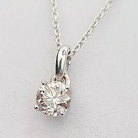 Золотой кулон с бриллиантом 0.50Ct VS1/K