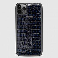 Чехол для телефона iPhone 11 Pro Max Finger-holder Blue