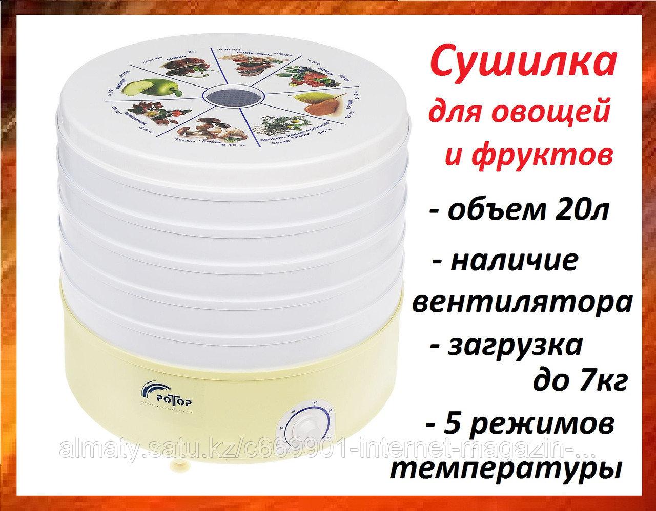 Сушилка для овощей и фруктов РОТОР