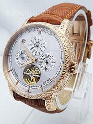 Мужские часы Vacheron Constantin Золотой, Белый, Коричневый