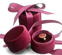 Ювелирная коробочка. бордовый, фото 1
