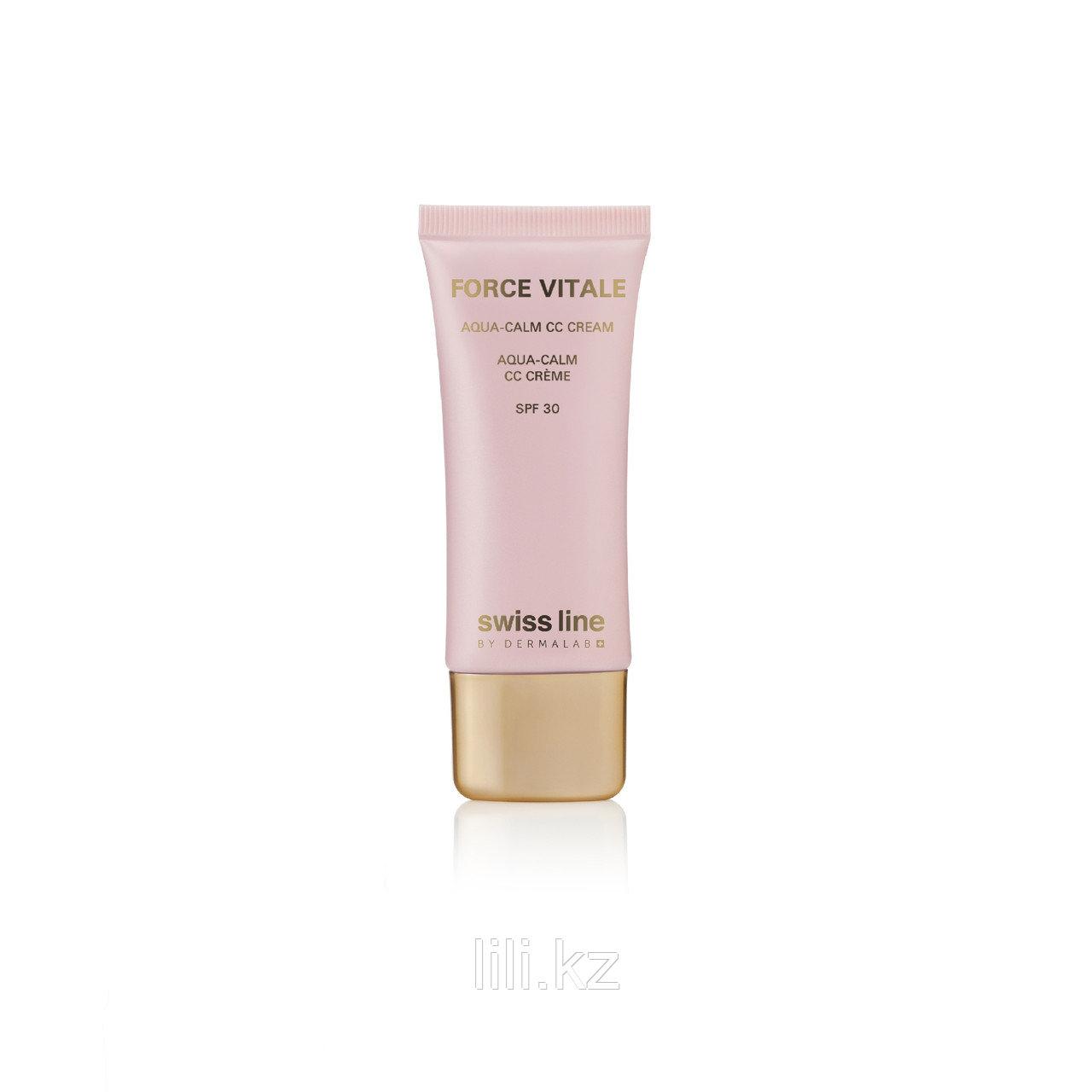 Увлажняющий CC-Крем для чувствительной кожи FV Aqua Calm Cream SPF 30, 35 мл.