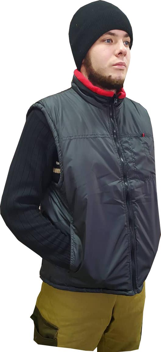 Куртка-Жилетка черная