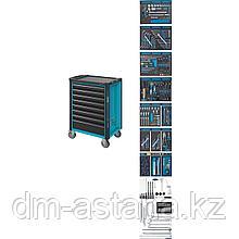 Тележка инструментальная 8 выдвижными ящиками с набором инструментов 296 пр. Hazet (Германия)