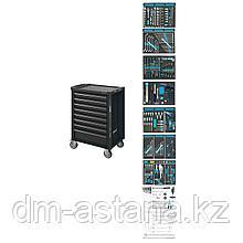 Тележка инструментальная 8 выдвижными ящиками с набором инструментов 300 пр. Hazet (Германия)