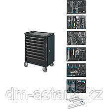 Тележка инструментальная с 8 выдвижными ящиками для легковых автомобилей BMW, 264пр. Hazet (Германия)