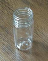 Бутылка PET 100мл PET 38мм прозрачная круглая+крышка