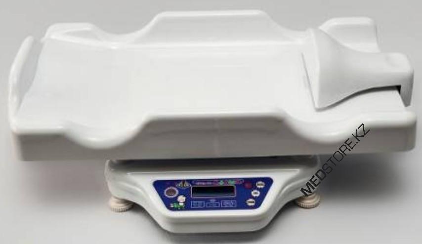 Весы электронные настольные для новорожденных и детей до полутора лет ВЭНд-01-«Малыш» с электронным ростомером