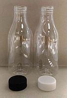 Бутылка прозрачная 500мл PET 38мм.кругл+крышка