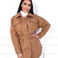 Пальто короткое осеннее