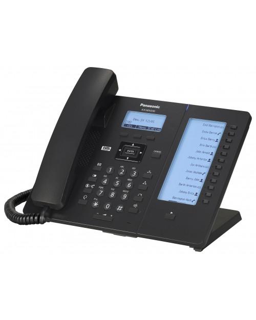 Panasonic KX-HDV230RUB Проводной SIP-телефон 2.3-дюйм, 6 линий, 2 порта,PoE, громкая связь, память 500 номеров