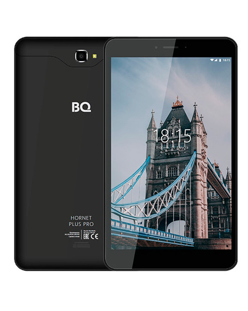 "Планшет BQ-8068L Hornet Plus Pro black LTE (8"", 1280*800 IPS, 4*1.3Ghz, 2+16Гб, And8.1)"