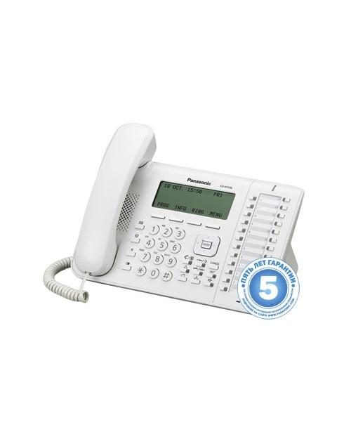 Panasonic KX-NT546RU IP системный телефон, 6-строчный LCD дисплей, 48 клавиш быстрого набора