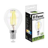 Лампа светодиодная Feron LB-61 Шарик E14 5W 4000K 25579