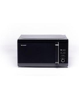 Микроволновая печь Sharp R6852RK с грилем, black ( 800Вт., 20л., электронное управление)