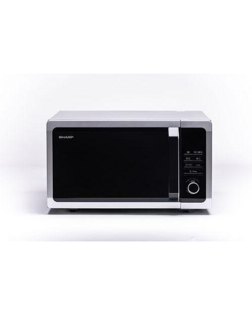 Микроволновая печь Sharp R7852RSL с грилем, silver ( 900Вт., 25л., электронное управление)