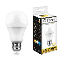 Лампа светодиодная Feron LB-94 Шар E27 15W 2700K