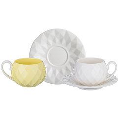 Чайный набор на 2 персоны, 4 пр., 200 мл, 374-035, Lefard