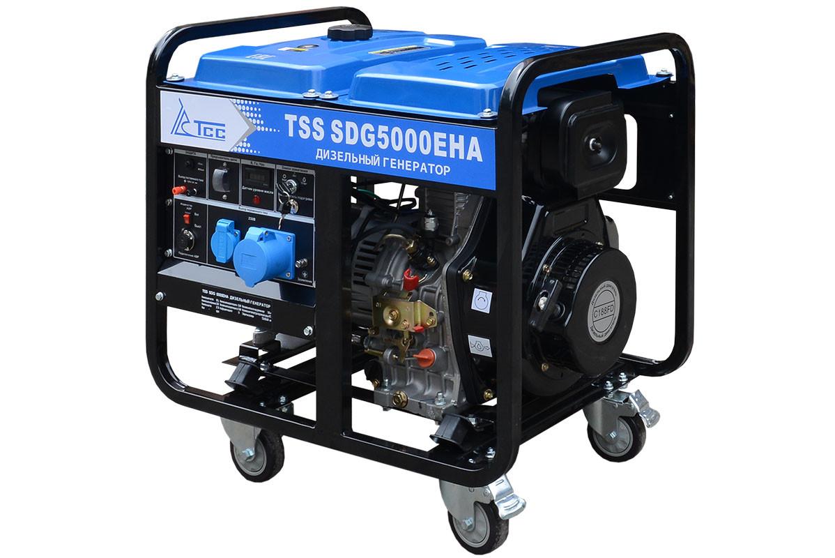 Дизель генератор TSS SDG 6000EHA