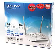 Модем беспроводной VDSL2/ADSL2+ 300M GbE Tp-Link TD-W9970 <Wireless 300M VDSL2/ADSL2+