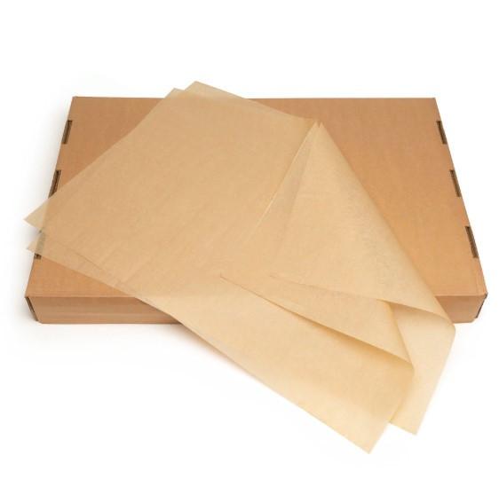 Подпергамент - бумага пергаментная в листах 10кг (800 листов/упаковка) 400*600мм