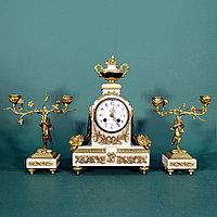 Часовой гарнитур в стиле Людовика XVI Франция. II половина XIX века