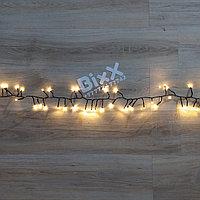"""Светодиодная гирлянда """"Мишура"""" -  15 метра, 700 лампочек, тёплый свет, 8 режимов свечения"""