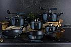 Набор посуды Berlinger Haus Metallic Line Aquamarine Edition 10 предметов (BH-1884), фото 3