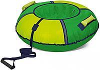 Тюбинг Ника ТБ6К-70 Зеленый/желтый