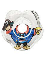 Надувной круг на шею для купания новорожденных Flipper Пират