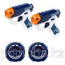 Игровой набор бластеров Lazer MAD Двойной