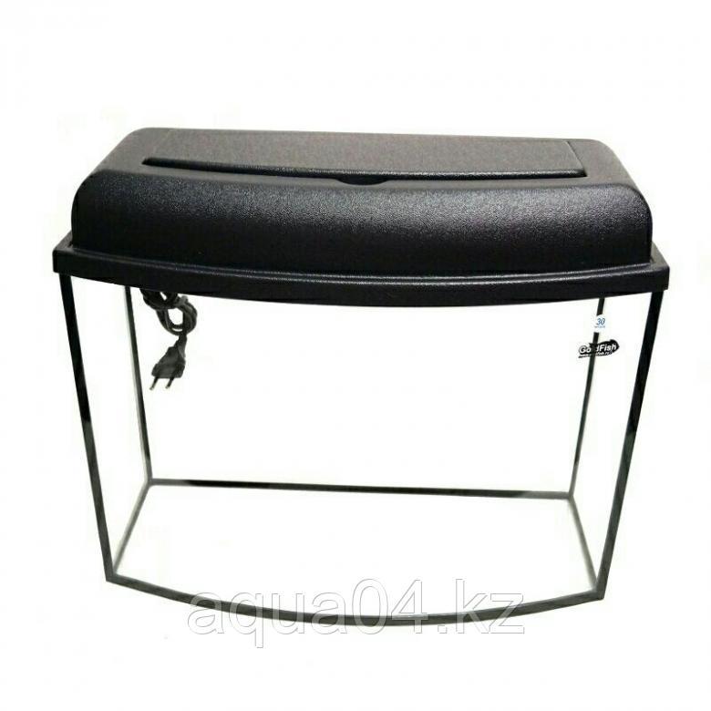 Аквариум телевизор 30 литров (гнутое стекло)